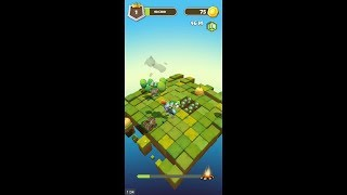 Slashy Knight (by Orbital Knight) - arcade game for android and iOS - gameplay.
