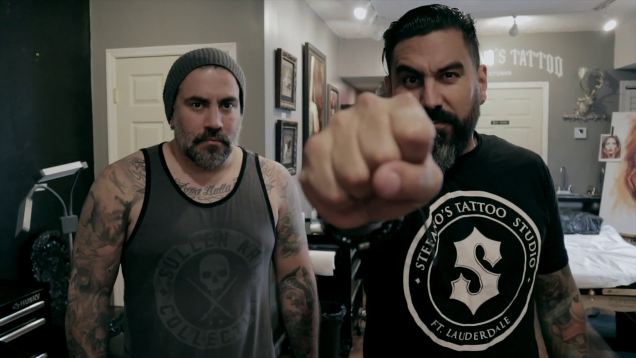 Stefano Tattoo Fort Lauderdale. - YouTube
