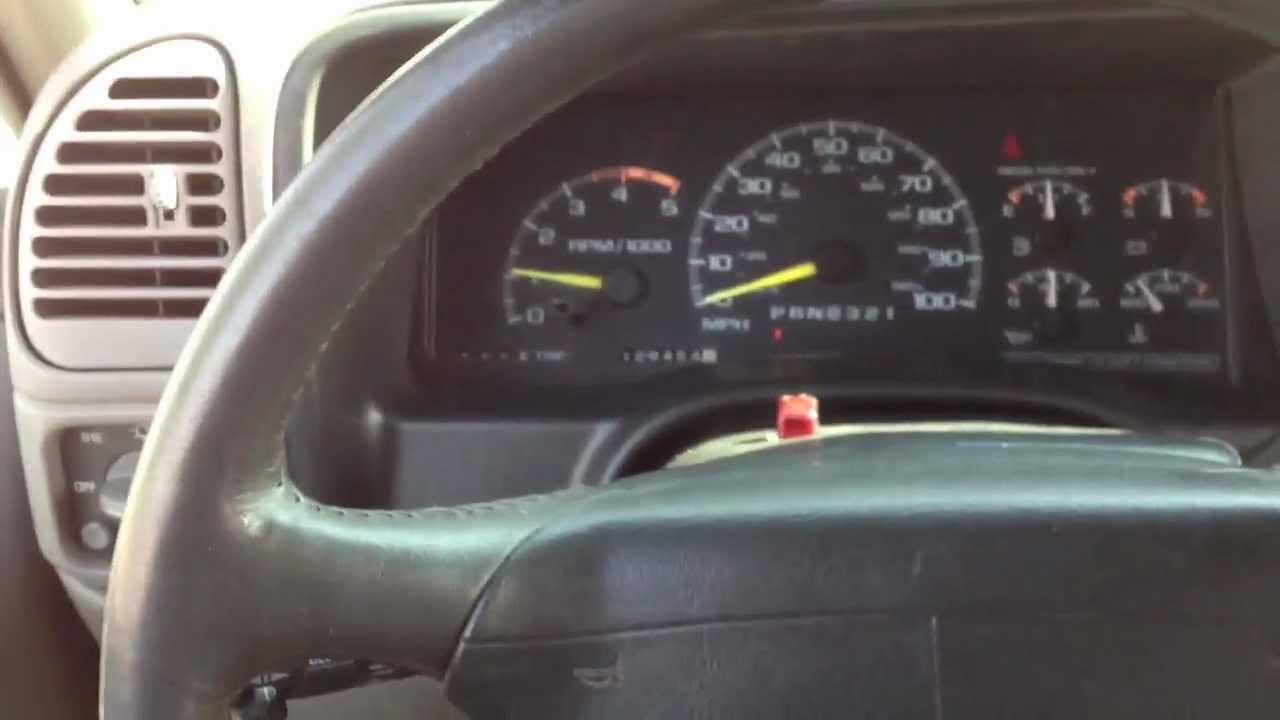 How a High Idle switch works on a 6 5 Turbo Diesel