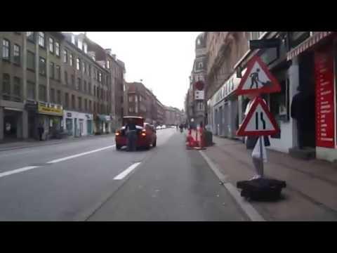 Cycling in Copenhagen : Amager Boulevard _ Amagerbrogadev