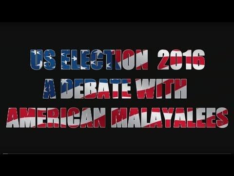 US ELECTION DEBATE 2016