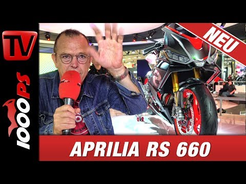 Aprilia RS 660 2018 - Supersport Studie auf der EICMA
