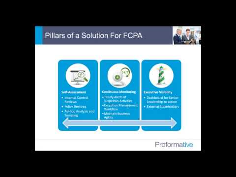 FCPA Compliance  Practical Steps to Establish and Maintain Control across the Globe