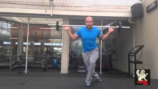 William Castro - Rutina de piernas (Rebelion Fitness)