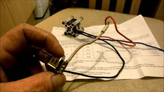 Brushless Motor Used As An Alternator, Description And Test With Surprising Results!