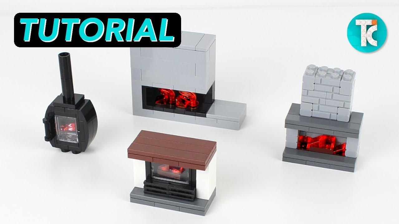 LEGO Fireplaces (Tutorial)