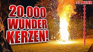 20.000 WUNDERKERZEN FEUERWERK!