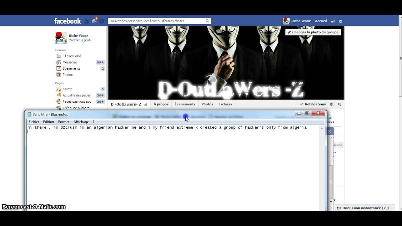 a nEw algerian hacking group d -outlawers- z