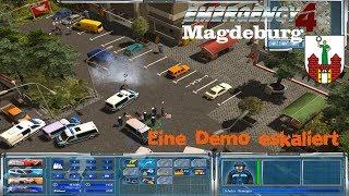 Emergency 4 Mod Magdeburg#Eine Demo eskaliert#german HD