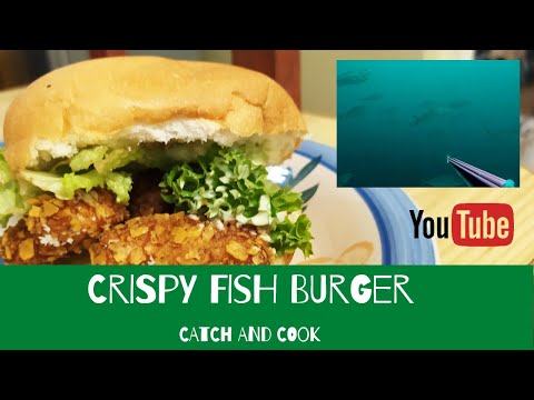 CRISPY FISH BURGERS | Tropical CATCH AND COOK