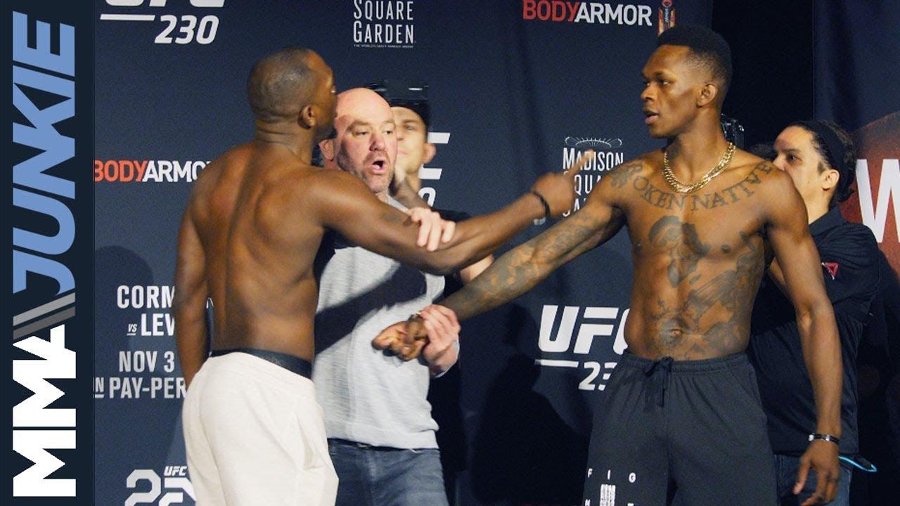 UFC 230: Ceremonial weigh in highlight