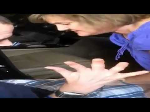 How To Help a handicapped person into the car and put the wheelchair in the trunk