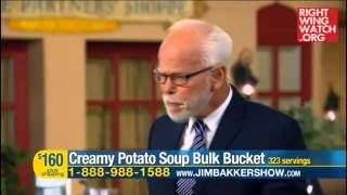 Rww News: Bakker: Party Through The End Times With Cake, Soup