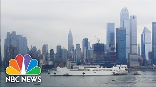 USNS Comfort Arrives In New York City Harbor For Coronavirus Assistance | NBC News