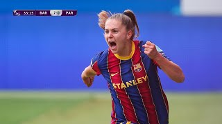 Lieke Martens secured the final for Barcelona