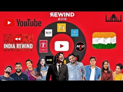 YouTube Rewind India 2018 | BB Ki Vines T-Series Amit Bhadana | Indian Youtubers in YouTube Rewind