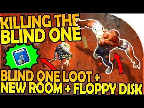 KILLING THE BLIND ONE - FLOPPY DISK + THE BLIND ONE LOOT Last Day On Earth Survival 1.6.9 Update