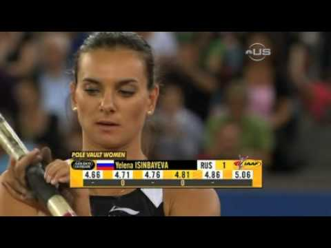 Isinbayeva with new world record - from Universal Sports