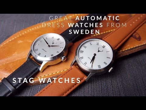 Stag Generation One Unboxing & First Impression | Affordable Dress Watches From Sweden