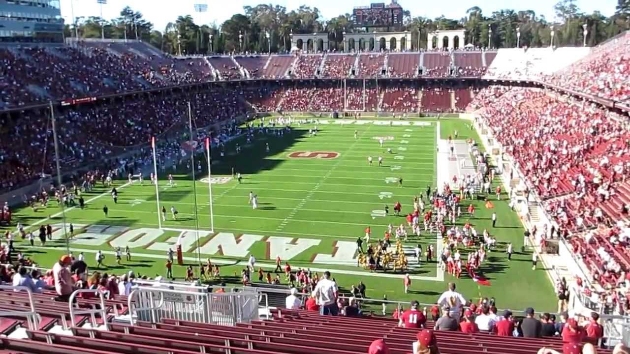 Stanford Football Entrance vs. Washingtion State 2012 ...