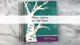NEW Live Rich Planner Unboxing & First Impressions | Organized with Olivia