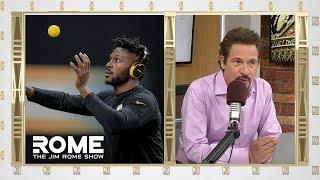 Antonio Brown Post Bizarre Workout Video | The Jim Rome Show