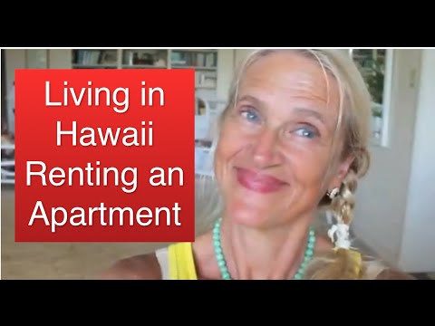 Living in Hawaii, Renting an Apartment in Hawaii