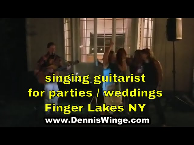 singing guitarist party or wedding | Syracuse Rochester Ithaca Binghamton NY
