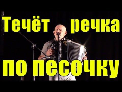 Песня Течёт речка по песочку Сергей Ягупов песни на баяне