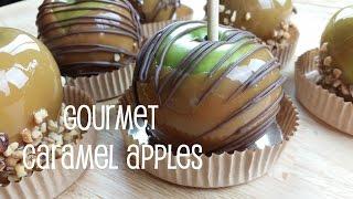 Gourmet Caramel Apples | RanDumbKay