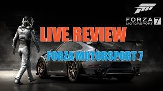 FORZA Motorsport 7 - LIVE Review - Thrustmaster TS-XW Racer Wheel