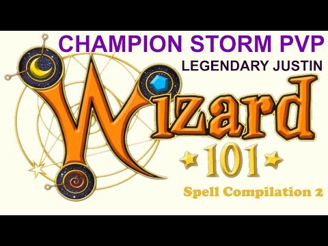 Wizard101 CHAMPION STORM PVP v.s. CHAMPION DEATH!!! WHO WILL WIN?