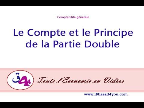 Comptabilité générale : le Compte et le Principe de la Partie double.