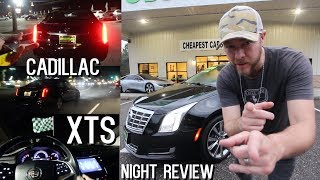 ( Night Review ) Cadillac XTS | Exterior & Interior LED Lighting - Full In Depth Tour