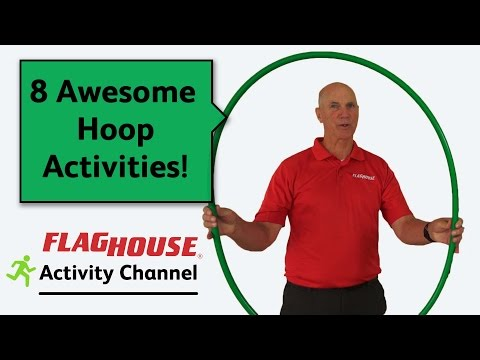 8 Awesome Hoop Phys Ed Activities (Ep. 26 - No Kink Hoops)