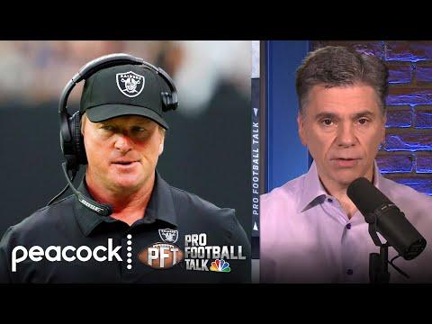 Unpacking Jon Gruden's resignation from Las Vegas Raiders | Pro Football Talk | NBC Sports
