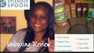 Vegan delivery Splendid Spoon/taste test review