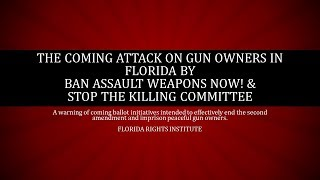 BAWN! and Stop the Killing Committee Assault On Florida Gun Owners through Ballot Initiatives