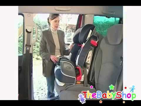 Silla auto nautilus de graco youtube for Sillas para carro kiddo