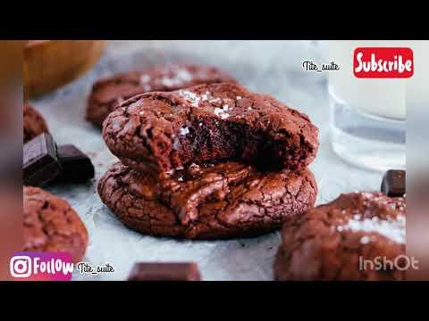 cookies-brownies-au-chocolat-‼️-recette-facile-et-rapide,-اسهل-و-اسرع-كوكيز-براونيز-‼️