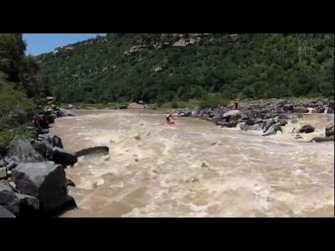 iAFRICA - a Zulu whitewater SUP adventure