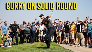 Stephen Curry on his first round at the Ellie Mae Classic thumbnail