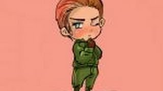 How to draw Chibi Germany from Hetalia
