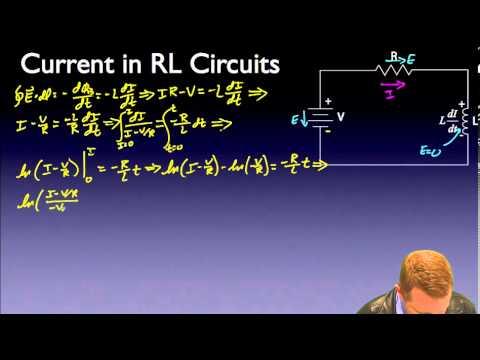 AP Physics C - RL Circuits