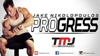 Jake Nikolopoulos PROgress 2014 | Episode 11: Y3T Shoulder Workout | MassiveJoes.com