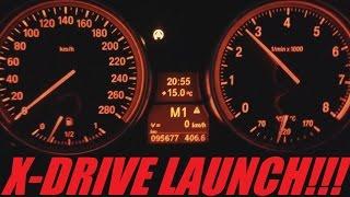 BMW N54 335xi Great Launch 0-100 km/h (0-60 MPH)