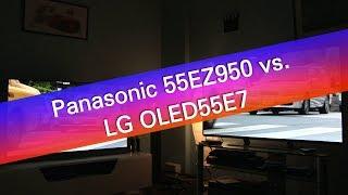 Panasonic TX-55EZ950 vs LG OLED55E7 4K UHD TV comparison review