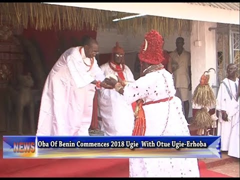 Oba of Benin Commences 2018 Ughe festival with Otue Ugie-Erhoba
