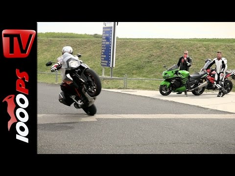 PS-Test Crossover Austria Teaser | Superduke GT, S 1000 XR, ZZR 1400