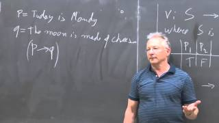 Lecture 4: The semantics of propositional logic